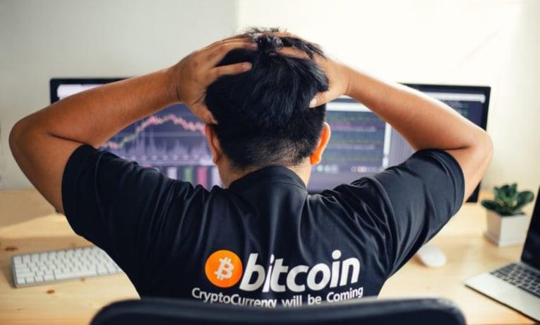 Caída del bitcoin