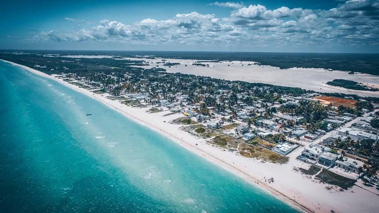 Terrenos en la playa
